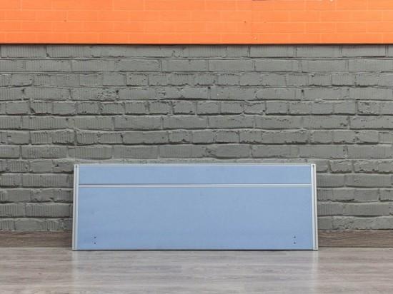 Экран для офисного стола, синий