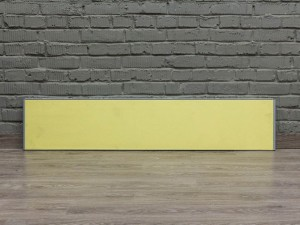 Офисная мебель бу. Настольный экран Walter Knoll, желтый
