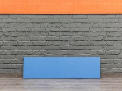 Экран офисный LAS, синий Офисная мебель бу.