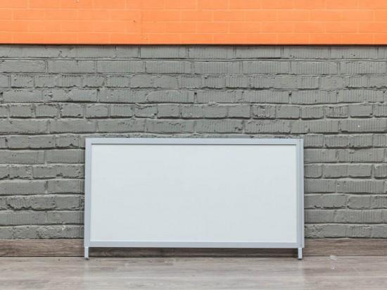 Экран настольный модульный, белый
