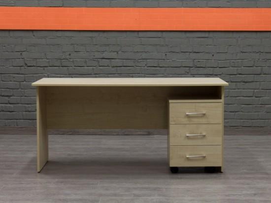 Новый стол с тумбой Style, клен