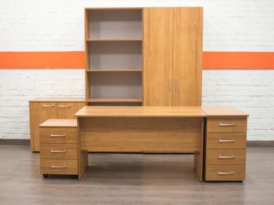 Комплект офисной мебели новый Style, ольха