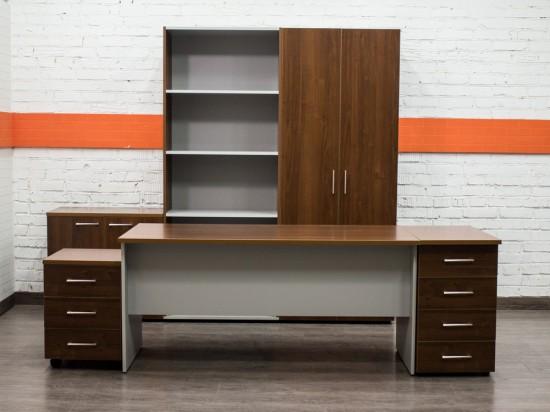 Комплект мебели новый Business, орех