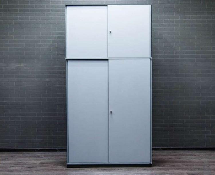Шкаф для документов двухсекционный Bene