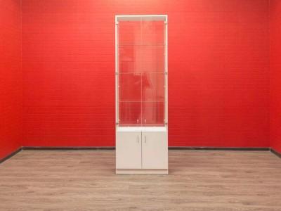 Витрина шкаф со стеклом