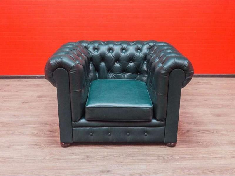 Кресло из экокожи Честер