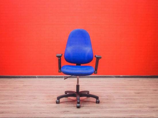 Кресло для персонала GS, синее, Германия