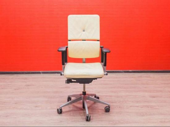 Кресло офисное steelcase кожа