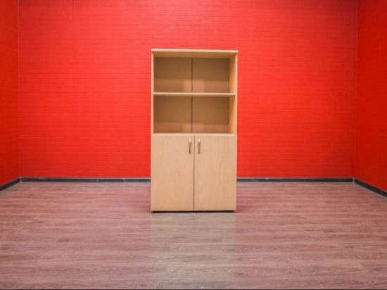 Шкаф офисный Агат для документов клён