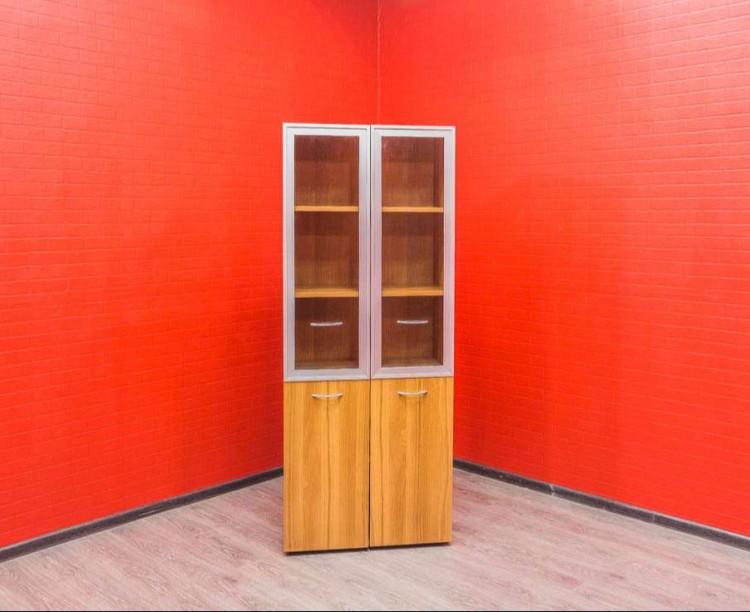 Шкаф для документов со стеклом